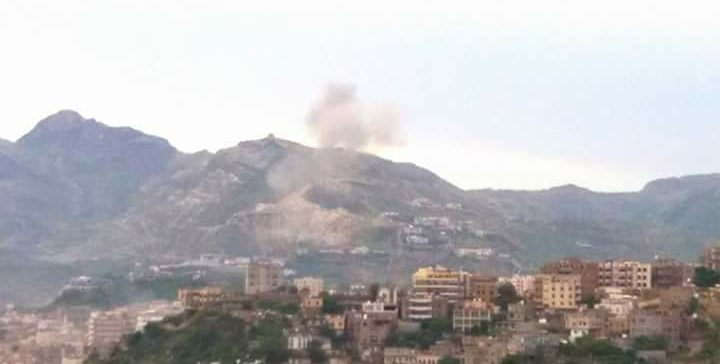 Confrontations and mutual shelling on rural fronts southeast of Taiz