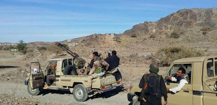 The army in Al-Jawf controls quantities of weapons and ammunition for the militia