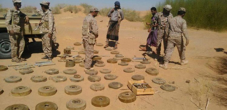 Floods uncover landmines in Shabwah
