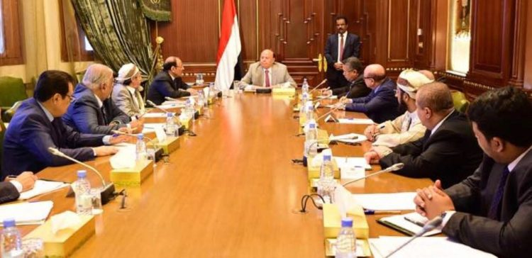 President holds meeting with VP,PM ,his advisors