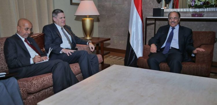 VP briefs US Ambassador on efforts to counter coup and terrorism