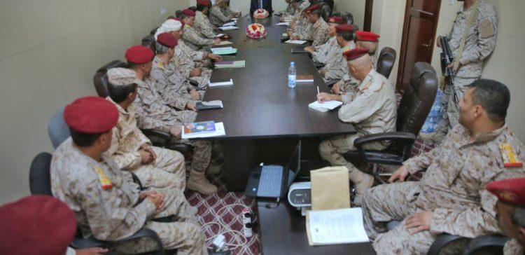 Lt. Gen. Ali Mohsen stresses institutional building of Defense Ministry