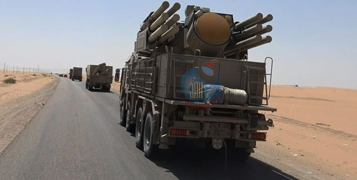 Coalition delivers 'Patriot' Defence to the NA in AlJawf.