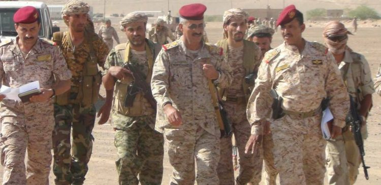 Chief of Staff inspects number of Brigades in Marib