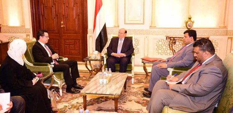 President Hadi receives Turkish Ambassador