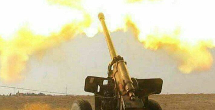 Army artillery hits hard militias positions in Serwah