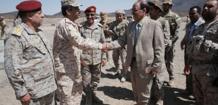 VP inspects situations of Shabwah, training camps in Mareb