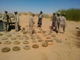 MASAM removes 752 Houthi laid mines in the 4th week of September