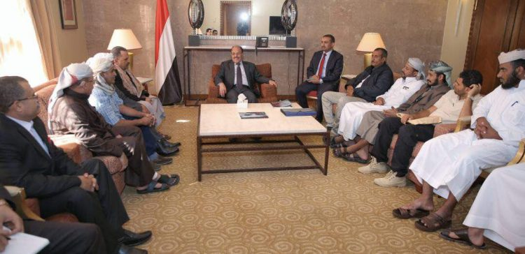 VP discusses Taiz and Hodeidah liberation with provincial officials separately
