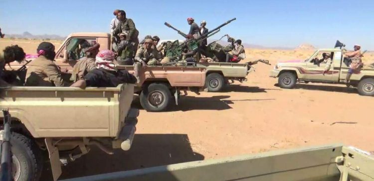 Al-Jawf,..army forces recapture key mountain, coalition jets destroy militia equipment