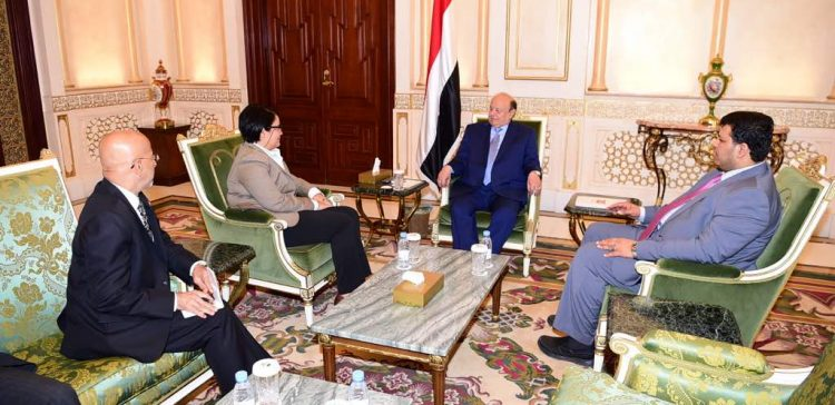 President Hadi praises US support for Yemen