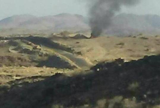 Arab Coalition raids target militia sites in Albayada