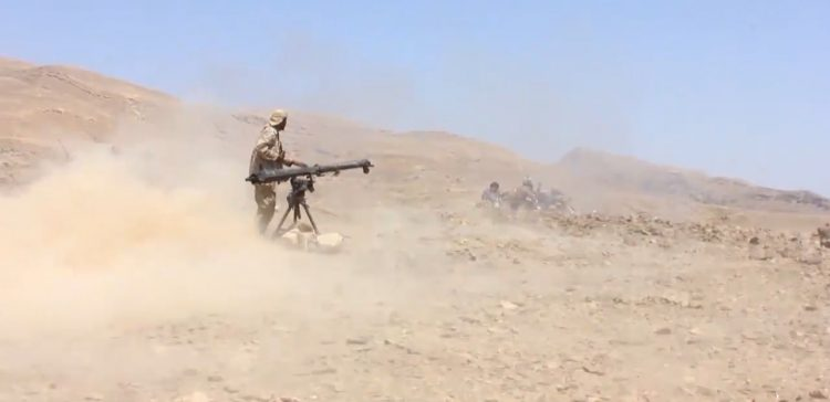 National Army recaptures key sites from Houthi militia in north of the county