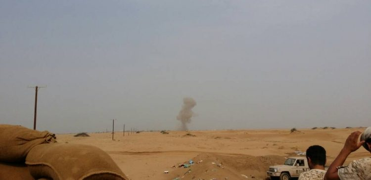 Airstrikes,army troops inflict militiamen dozens of killed and wounded in Hajja