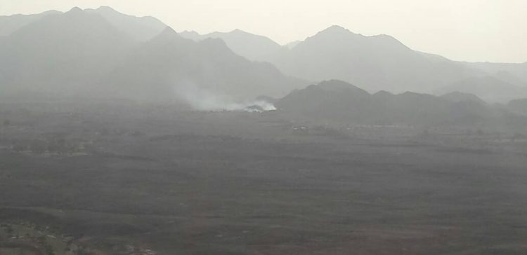 Arab coalition jets target Houthi militia positions in Serwah