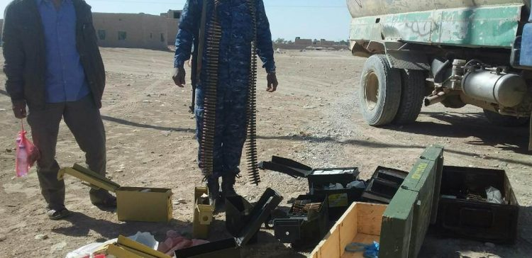 Al-Jawf,,, security apparatus prevented smuggling weapons to militia