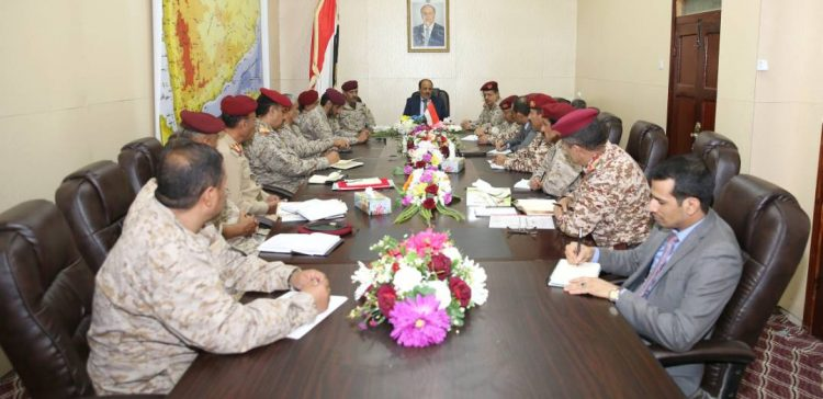 VP urges institutionally military build-up