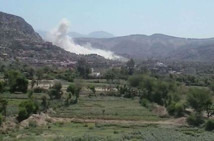 More than 30 Houthi rebels killed in coalition air strikes in Taiz