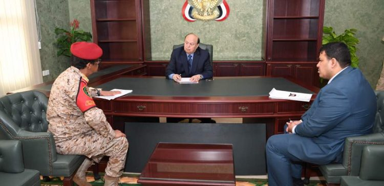 President Hadi urges on military institutions integration