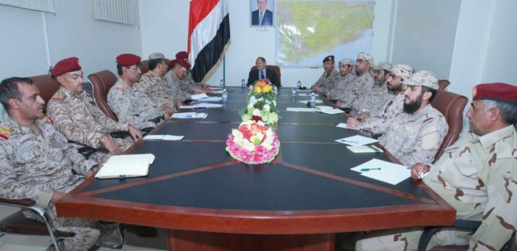 VP holds a high-profile military meeting