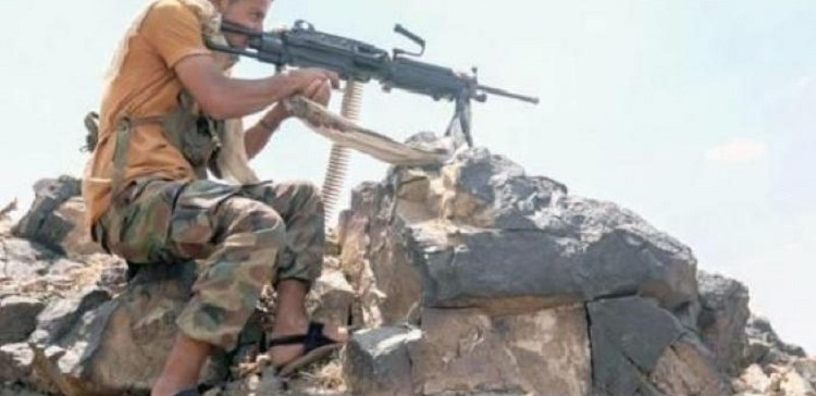 Dozens of Houthi militia elements killed, wounded in fighting west Taiz province