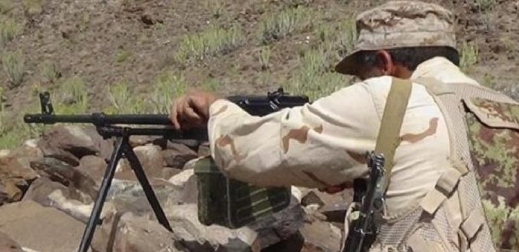 20 Houthi militiamen killed, injured in battles with army forces in Al-Dhale