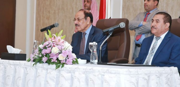 VP praises President Hadi's call on GPC's leaders to nationally align themselves