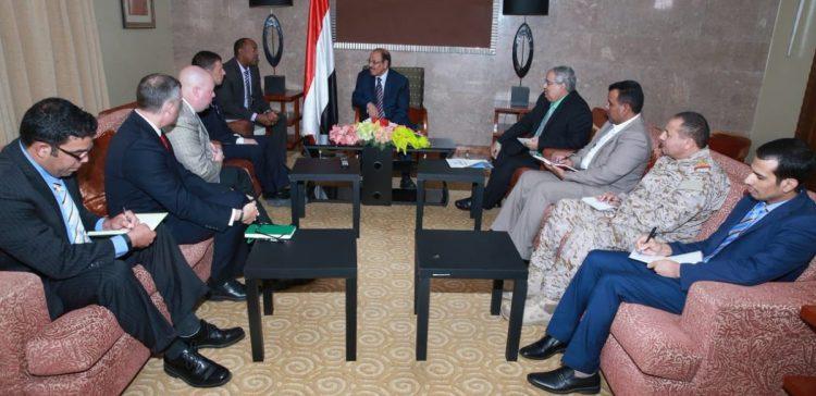 Yemeni-American cooperation in fighting terrorism discussed