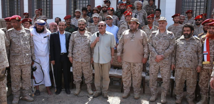 VP inspects government's troops in Al-Boq'a, Sa'adah