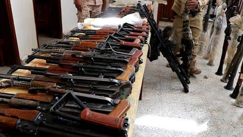 Marib police seizes weapons en route to Houthi militia