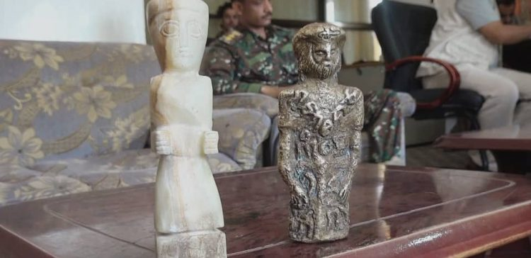 Security forces in Marib thwart Houthi smuggling of ancient statues
