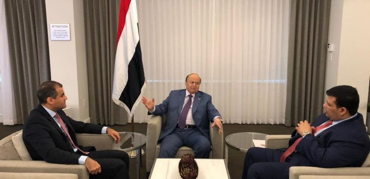 President Hadi urges diplomatic missions to highlight Yemeni peoples' ordeal as a result of Houthi militia's coup