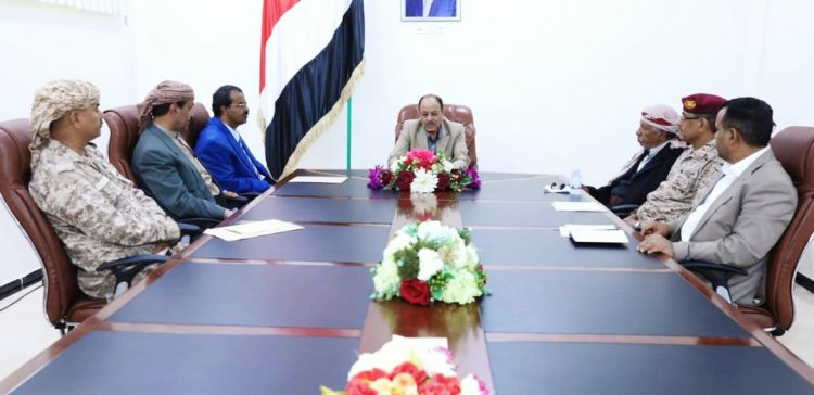 VP meets with military commanders of Qaniah Front, Al-Baidha province