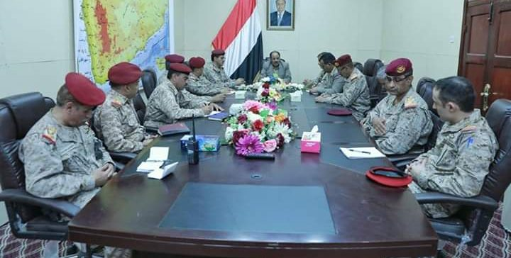 Vice President discusses with military commanders finalizing liberation