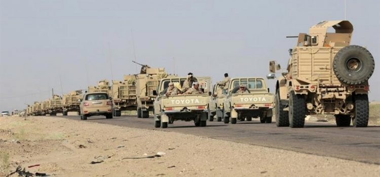 Army inching closer on complete besiege on Hodeidah city