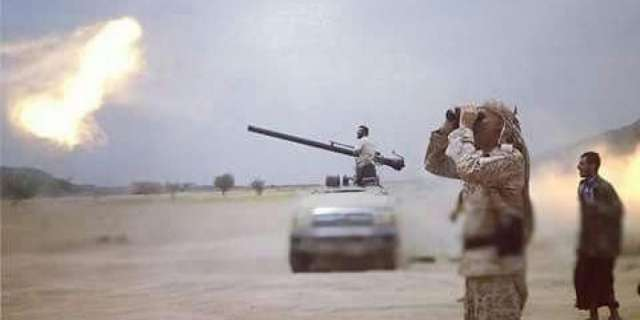 Amy artillery kills, injures 10 Houthi rebels in Taiz