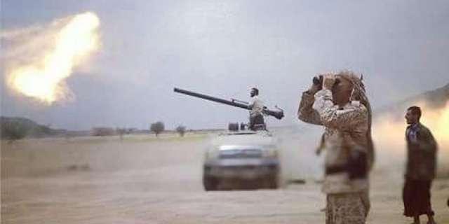 Army artillery shells Houthi rebels western Taiz