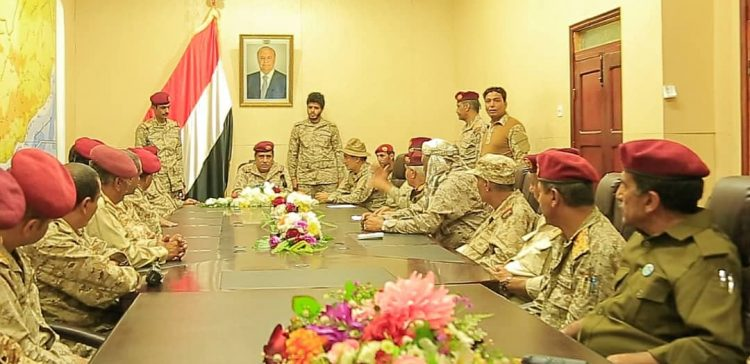 Chief of Staff meets with Defense Ministry leadership