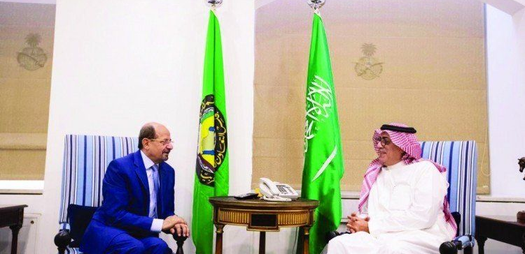 Yemen's Ambassador to Riyadh meets with Under-Secretary of Saudi Foreign Ministry