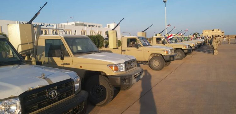 Saudi Arabia grants trucks to Yemen Coast Guards