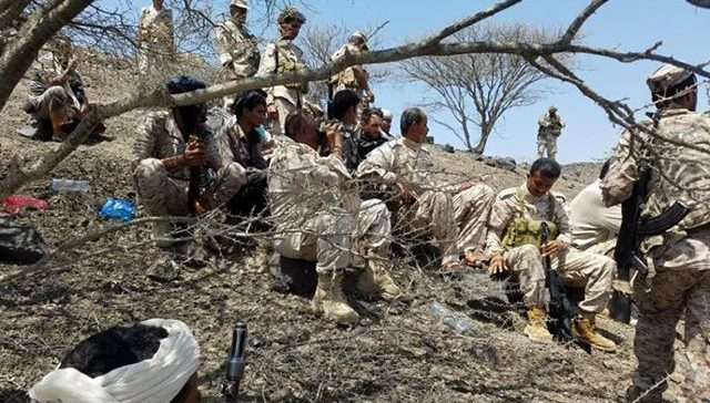 Moral Guidance in Taiz inspects army units on frontlines