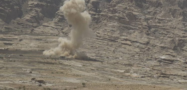Houthi militia killed and injured central Yemen