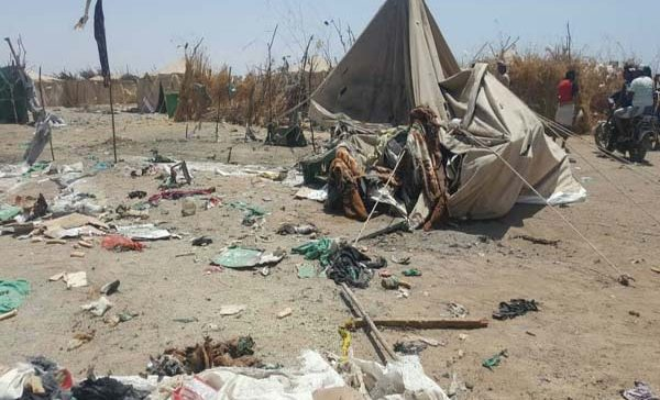 "IDP camps Unit say Houthi killing of displacees ""heinous crime"""