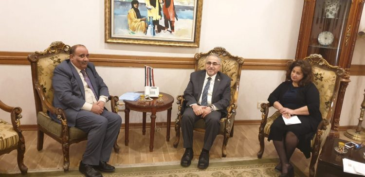Moramesh, Iraqi official discuss bilateral relations