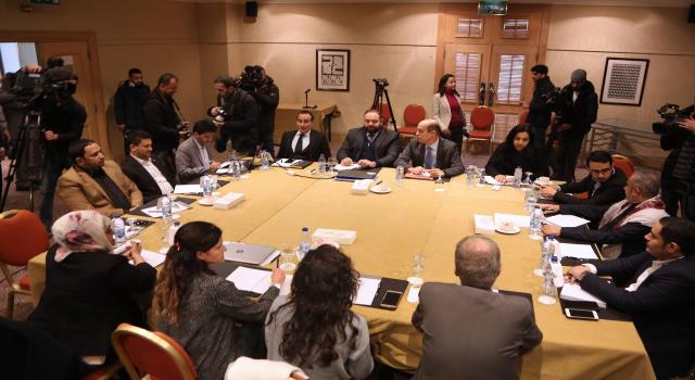 Meeting in Amman about unsettled cases in prisoners' lists