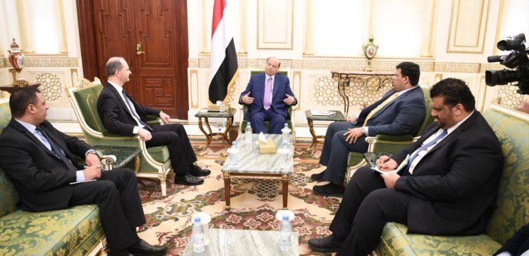 President Hadi praises improved Yemeni-Austrian relationship