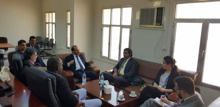 Minister of Planning explores further cooperation by the UN about economy, development