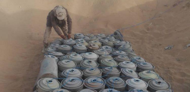 MASAM destroys 1600 Houthi-laid mines in Shabwa