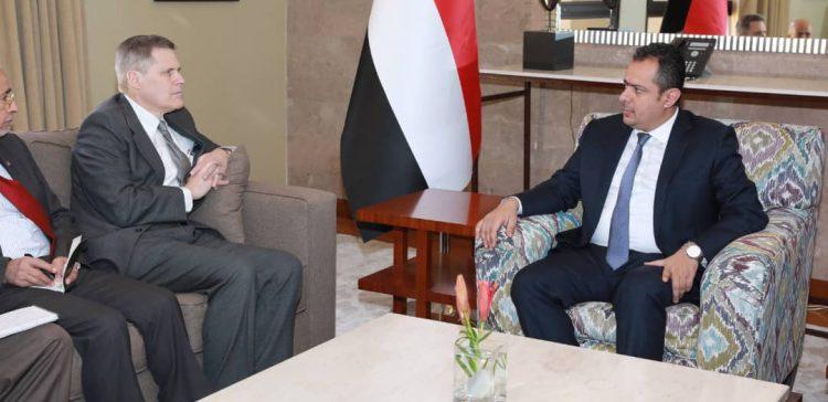 PM, U.S. Ambassador explore support for Govt' s efforts, launching reconstruction drive