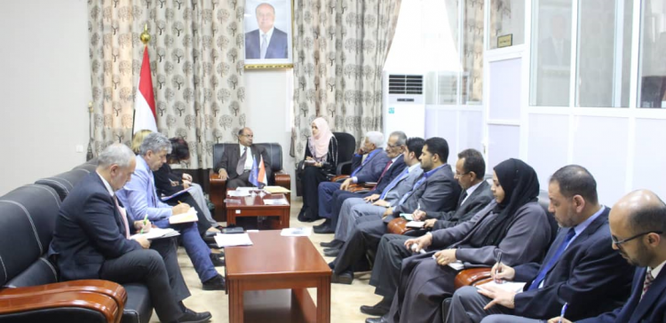 Yemeni-European talks in Aden about reconstruction plan